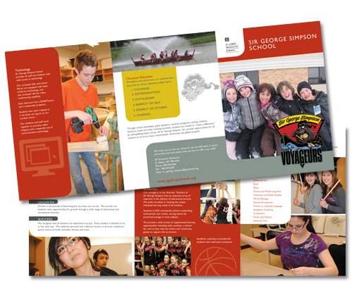 Sir George Simpson School Brochure