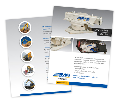 SMS Equipment brochure